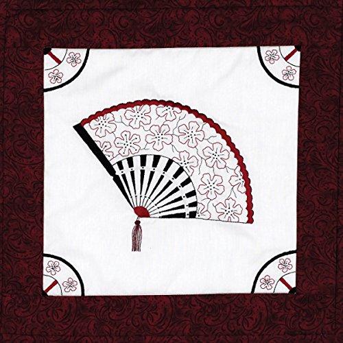 Janlynn Stamped Cross Stitch Quilt, Block Oriental -
