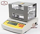 NEWTRY Digital Electronic Precious Metal Tester Gold Purity Analyser Karat Detector Meter Measuring Machine Testing Machine Density Tester Densimeter (DH-300K)