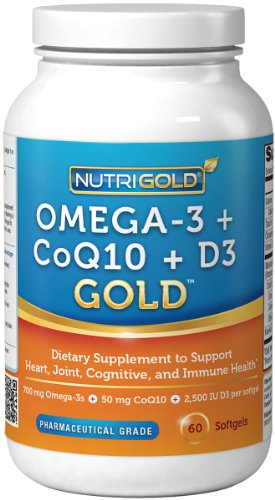 Omega 3 CoQ10 Vitamin D3 GOLD product image