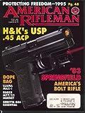 AMERICAN RIFLEMAN Heckler & Koch 45 USP 1903 Springfield Charlton Heston 6 1995