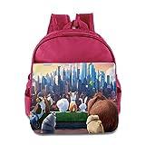 Kids The Secret Life Of Pets School Backpack Cartoon Children School Bags Pink