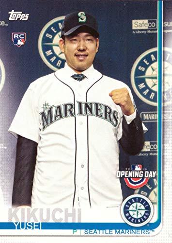 2019 Topps Opening Day Baseball #55 Yusei Kikuchi Rookie Card Seattle Mariners