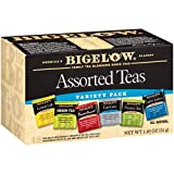 Bigelow Assorted Teas 6 Flavors, 18 Count Box (Pack of 6) Caffeinated, 108 Tea Bags Total