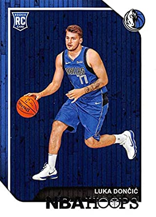 2018 19 Nba Hoops Basketball 268 Luka Doncic Dallas Mavericks Rc Rookie Card Made By Panini