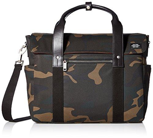 Jack Spade Men's Waxwear Survey Bag, Camo by Jack Spade