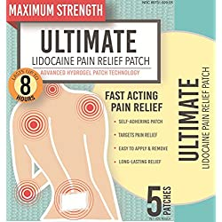 Ultimate Lidocaine Pain Relief Patch