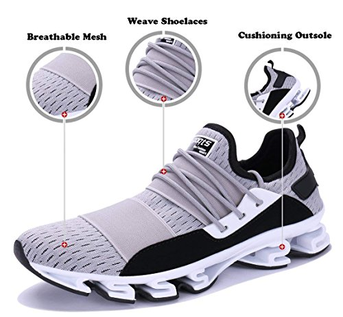 Running Mesh Breathable 6 WYSBAOSHU Shoes Mens Shoe Outdoor Grey Walking Sports Blade Sneakers w8qwaHX