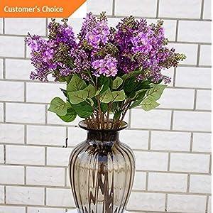 Hebel 1Pc Artificial Lilac Fake Flower Wedding Bouquet Party Home Cafe Decor US | Model ARTFCL - 649 | 75