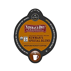 Vue 16-Count Newman's Own Medium Roast Extra Bold Coffee for Keurig Brewers