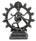 """Bellaa Dancing Shiva Natraj Statue - Antique Color Finish - 6"""" Statue"""