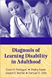 img - for Diagnosis of Learning Disability in Adulthood by Dawn P. Flanagan (2003-01-18) book / textbook / text book