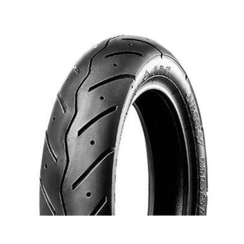 IRC MB90 Scooter Tire - Front/Rear - 80/100-10 , Position: Front/Rear, Tire Size: 80/100-10, Rim Size: 10, Load Rating: 46, Speed Rating: J, Tire Type: Scooter/Moped T10319