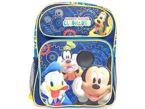 e5756be0465c Mickey Mouse Club House Small Toddler Backpack 40246