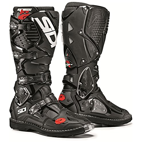 (Sidi Crossfire 3 TA Off Road Motorcycle Boots Black US7.5/EU41 (More Size Options))