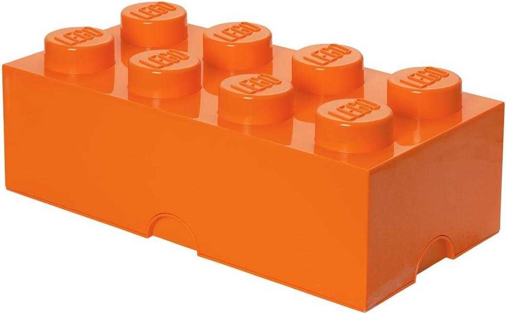 LEGO Storage Brick 8, Orange