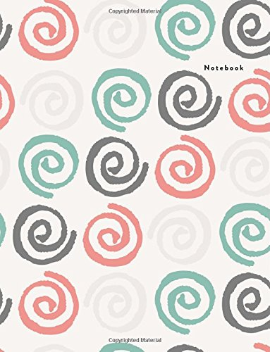 Notebook: Cosy Pattern - Lined Notebook: Large (8.5 x 11 inches) - 100 Pages (Lined Notebook Pattern (Cosy Pattern)) (Volume 18)
