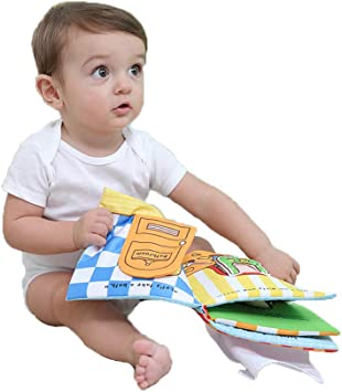 G Tree Baby Soft Activity Book Wie EIN Bad nehmen