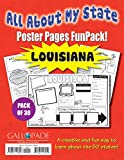 All About My State-Louisiana FunPack (30): A FunPack of Poster Pages for Creative Learning Fun! (Louisiana Experience)