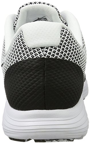 Nike Men's Revolution 3 Running Shoe, Zapatillas Deportivas para Interior para Hombre Blanco (White / Black)