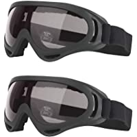gotyou 2 Piezas Gafas al Aire Libre,UV400 Gafas de Protección UV,Gafas de Esquí/Gafas de Moto…