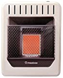 PROCOM HEATING MN1HPG 10,000 BTU Natural Gas Infrared Wall Heater
