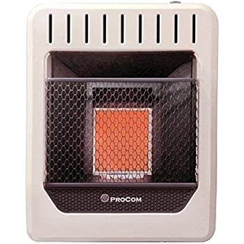 Ace Pro Com Mn100tpa Two Plaque Natural Gas Wall Heater