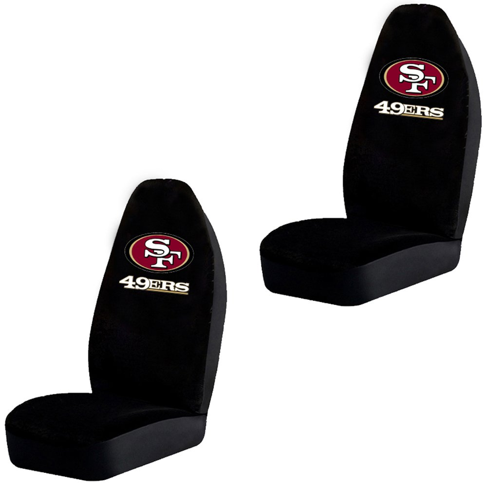 Bucket Seat Covers Football San Francisco Ers Pair Automotive Jpg 1000x1000 49ers Car