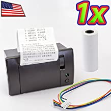 UPGRADE INDUSTRIES Mini 5-9V RS232 IoT Serial Thermal Receipt Printer for Arduino Raspberry Pi + 58mm Paper UPGRADE INDUSTRIES