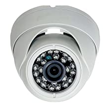 """Eyeball Dome Camera Hd 1080p 1/2.9"""" 2.0 Megapixel Sony Cmos Sensor 4in1 Ahd Hd-tvi Hd-cvi Cvbs Outdoor/Indoor Vandal Proof Cam Best for Security Cctv Surveillance System Upgrade and Replacement"""