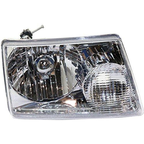 01 Rh Headlight Headlamp Light - 7