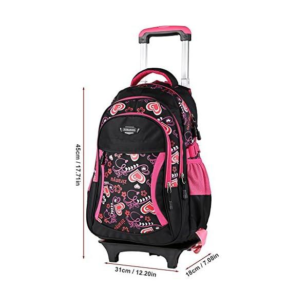 b204df6241 ... scuolaZaino borsa trolley scuola viaggio computer tablet pc libri  colore rosa nero. 🔍. Valigeria ...