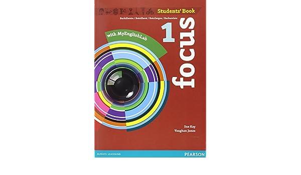 Focus Spain 1. Students Book & MyEnglishLab Pack: Amazon.es: Kay, Sue: Libros en idiomas extranjeros