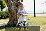 YOUNGER STAR Baby Boys Girls Short Sleeve Shady