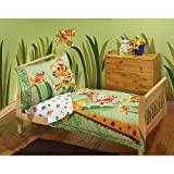 Fisher Price - Rainforest 4-Piece Toddler Bedding