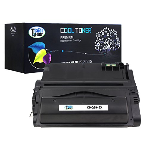 Cool Toner Compatible Toner Cartridge Replacement for HP Q5942X 42X Q1338A 38A Q1339A Q5945A High Yield (20,000 Pages)