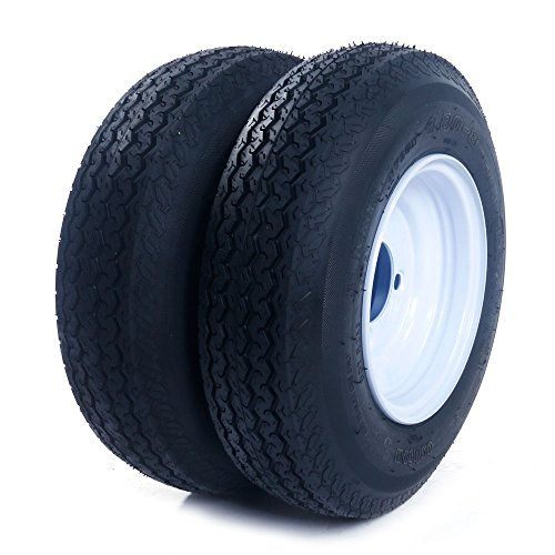 MILLION PARTS 2 Trailer Tires & Rims 480-8 4.80 X 8 8