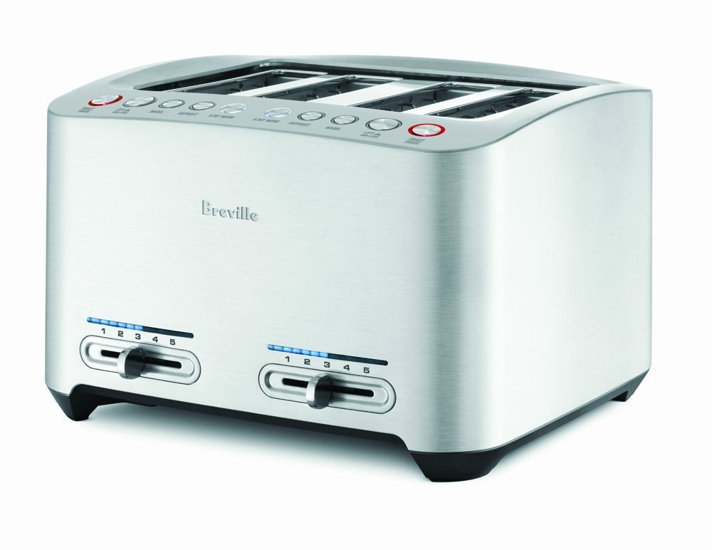 Breville BTA840XL Die-Cast 4-Slice Smart Toaster by Breville