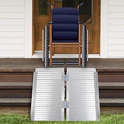 Rampa plegable portátil de aluminio, Rampa plegable de aluminio ...