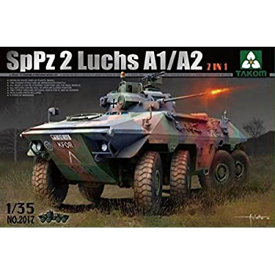 TAKom Bundes SPPZ2 Luchs A1/A2 2-in-1 Model Kit (1/35 Scale): Toys & Games