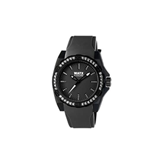 Watx Reloj Análogo clásico para Mujer de Cuarzo con Correa en Caucho RWA1883: WatxandCo: Amazon.es: Relojes
