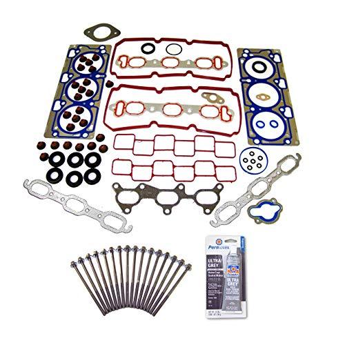 V6 Head Gasket Sohc - Head Gasket Set Bolt Kit Fits: 07-10 Chrysler 3.5L V6 SOHC 24v VIN G, M, V