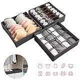 newstyle underwear organizer, foldable closet organizers drawer dividers storage box for bras