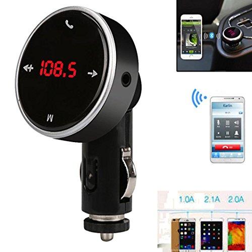 Creazy Wireless Bluetooth LCD MP3 Player Car Kit SD MMC USB FM Transmitter Modulator