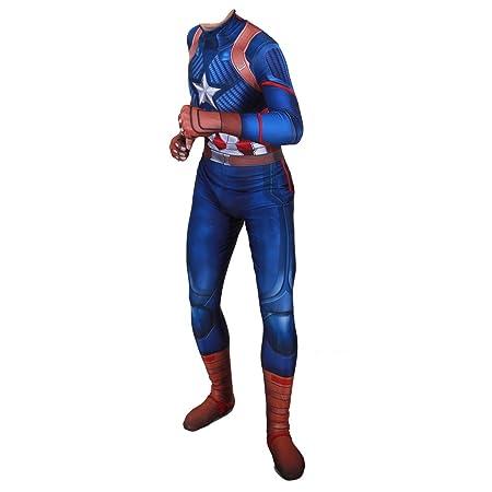 NDHSH Capitán América niño Cosplay Disfraces Disfraz de Halloween ...