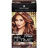 Schwarzkopf Color Ultime Metallic Permanent Hair Color Cream, 6.86 Sparkly Light Brown