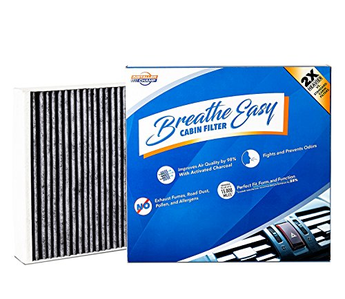 Installer Champ Premium Breathe Easy Cabin Filter, Up to 25% Longer Life w/Activated Carbon (BE-775B)