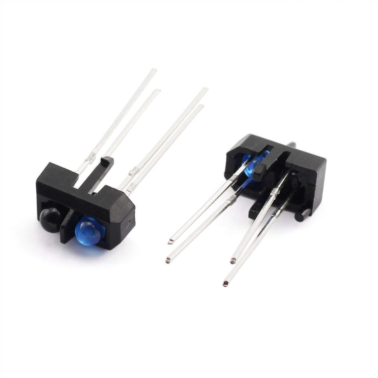 ZRM/&E 20pcs TCRT5000 Photoelectric Sensors Infrared Reflective Optical Sensor for Smart Car IR Photoelectric Switch