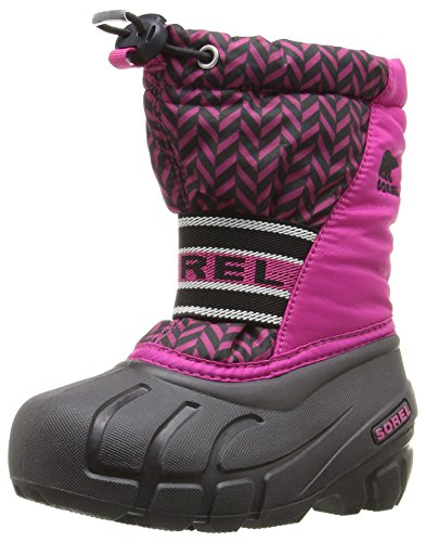 Sorel Youth Cub Graphic 15-K Snow Boot, Red, 2 M US Little Kid (Red Youth Graphic)