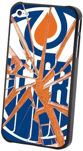 - NHL Edmonton Oilers iPhone 5 Broken Glass Lenticular Case