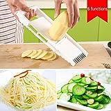 TAOtTAO Kitchen multi-function 6-piece cutlery peeling planing cucumber slices potato shredded garlic grinder